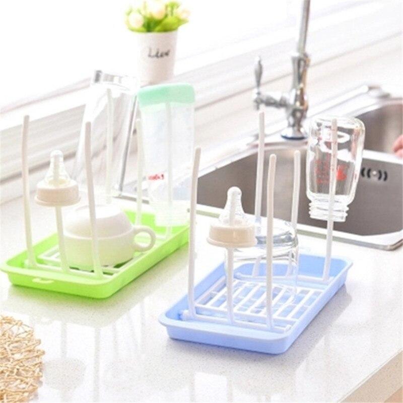 Baby Bottle Drying Rack Baby Feeding Bottles Cleaning Drying Rack Nipple Shelf