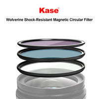 Kase 67/72/77/82/95mm Wolverine Shock resistant Magnetic ND Polarizer Filter MCUV/CPL/ND1000/ND64/ND8/GND0.9 Optical Glass