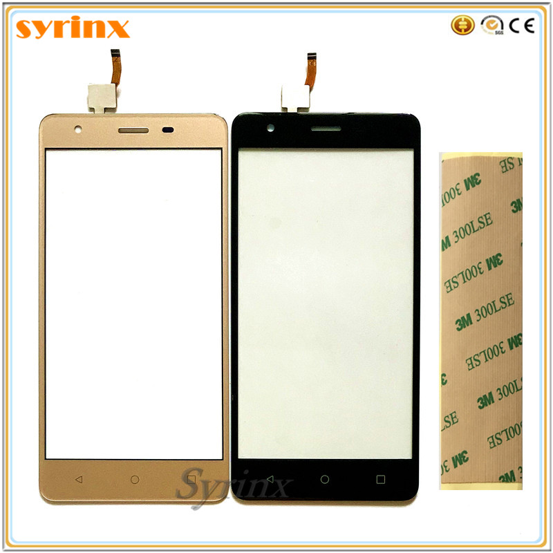 SYRINX +Tape Mobile Phone For Prestigio Muze H3 <font><b>PSP3552</b></font> PSP 3552 <font><b>DUO</b></font> Touch Screen Panel Digitizer Sensor Front Glass Touchscreen image