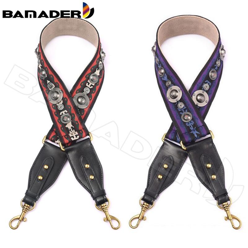 BAMADER Canvas Bag Strap Wide Shoulder Strap Canvas 96-100CM Nylon Bag Strap Shoulder Bag Accessories Comfortable Hat nail strap