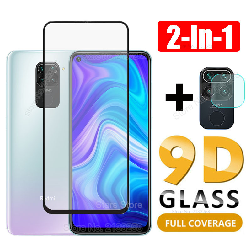 2 in 1 9D Tempered Glass Camera Lens Screen Protector For Xiaomi Mi 9T 9 8 A2 A3 lite Redmi K20 Note 7 8 9 Pro Max 8T Cover Film(China)