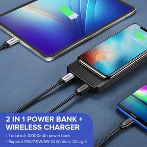 "Image 5 - Ugreen כוח בנק 10000mAh נייד מטען מהיר טעינה מהירה 4.0 3.0 QC3.0 Qi טעינה אלחוטי עבור iPhone 11 Xs 8 פ""ד Poverbank"