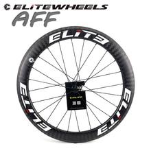 Комплект бескамерных колес из углеродного волокна для шоссейного велосипеда Elite DT 350S 700c, ширина 25 мм, 27 мм