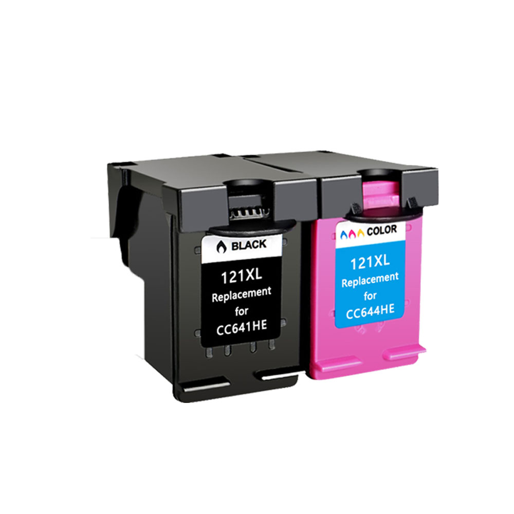 Image 5 - YLC 121XL compatible ink cartridges for HP 121XL hp121 for HP Deskjet F4283 F2423 F2483 F2493 F4213 F4275 F4283 F4583 printer-in Ink Cartridges from Computer & Office