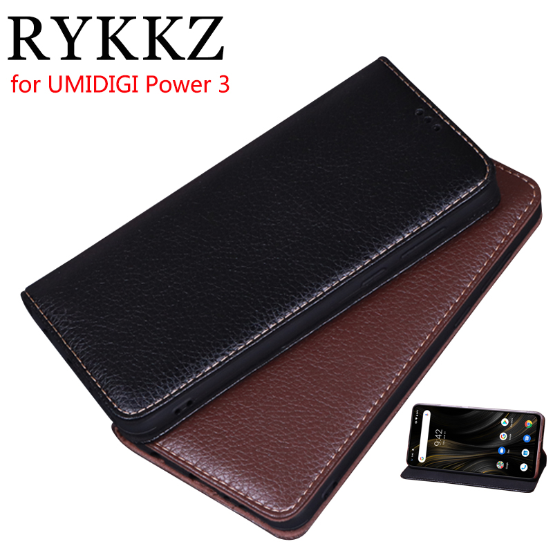 Luxury Leather Flip Cover For UMIDIGI Power 3 Protective Mobile Phone Case For UMIDIGI Power 3 Leather Cover Free Shipping