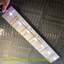 חדש 40 יח\חבילה 7LED(3V) 618mm * 18mm LED תאורה אחורית טלוויזיה רצועת בר GJ 2K15 D2P5 315 D307 V1 עבור 32 אינץ טלוויזיה 32HHA5857 LM315WF1