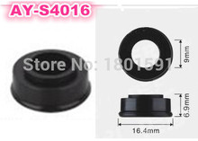 free shipping 100pieces fuel injector rubber seals for keihin multiport fuel injector service Kits AY S4016 16.4*6.9*9mm