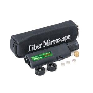 Image 5 - משלוח חינם כף יד 400X אופטי סיבי פיקוח מיקרוסקופ עם 2.5mm ו 1.25mm מתאם