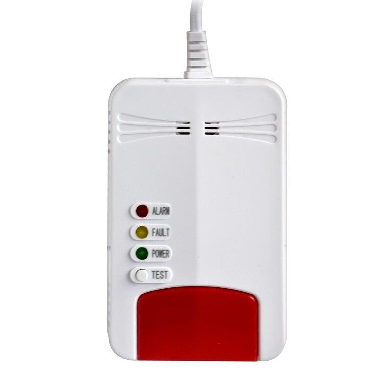 Combustible Gas Alarm Natural Wifi Gas Leak Standalone Detector Sensor For Tuya Smart Life App Control EU Plug
