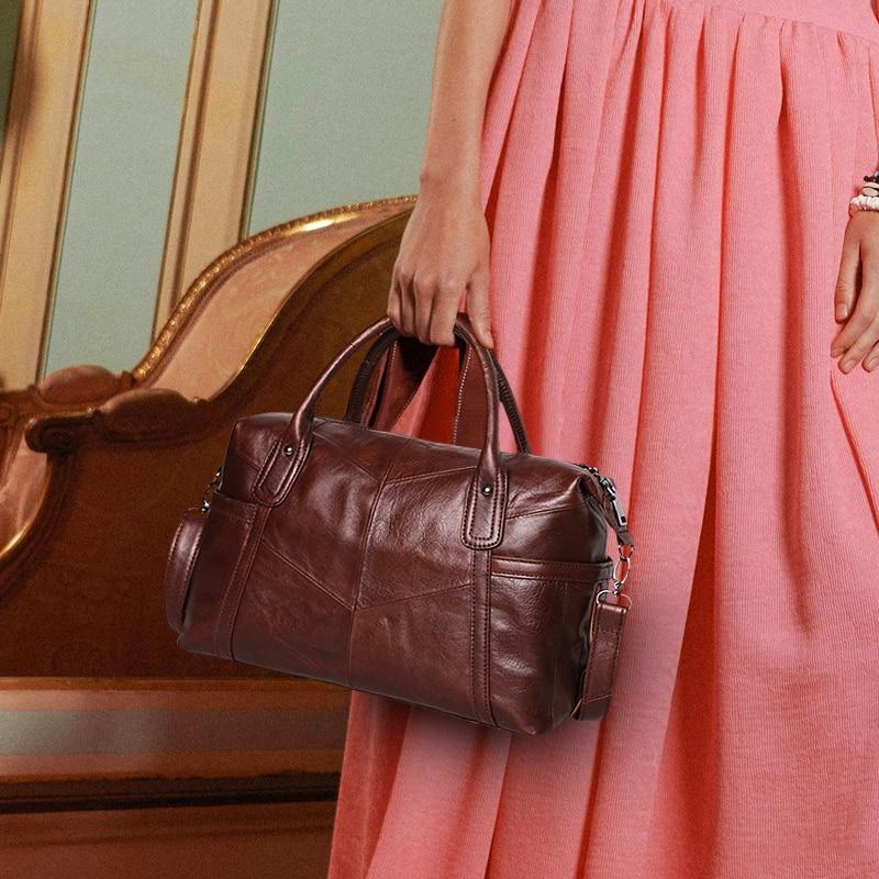 Cobbler Legend Big Bags for Women 2019 Genuine Leather Shoulder Bag Vintage Hand Purse Fashion Female