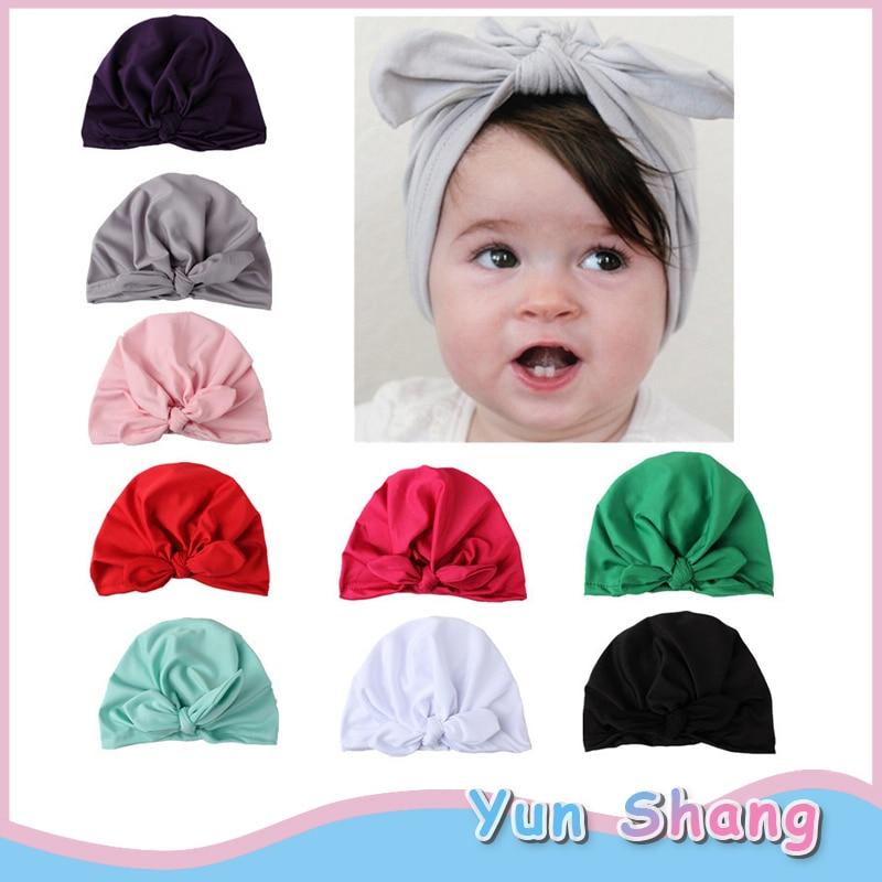 Fashionable Newborn Toddlers Babies Turban Cotton Beanie Soft Hat India Cap