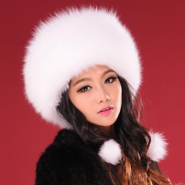 Women's Fox Fur Cap