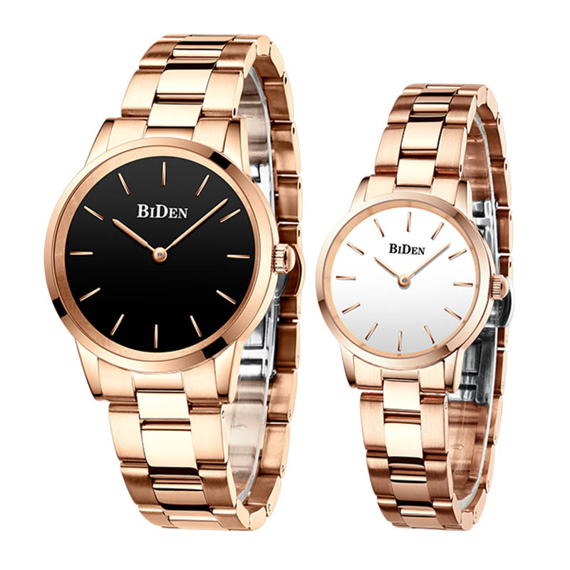 Luxury Classic Watches For Couple Gen's A Lady's Waterproof Casual Wristwatch Elegant Quartz Digital Clock