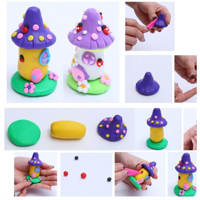 brinquedos criancas educacional ar seco polimero plasticina 05