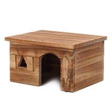 Маленькая домашняя кровать для хомяка с животными летняя классная