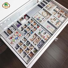 Msjo бархатный органайзер для ювелирных изделий 12 шт ящик украшений