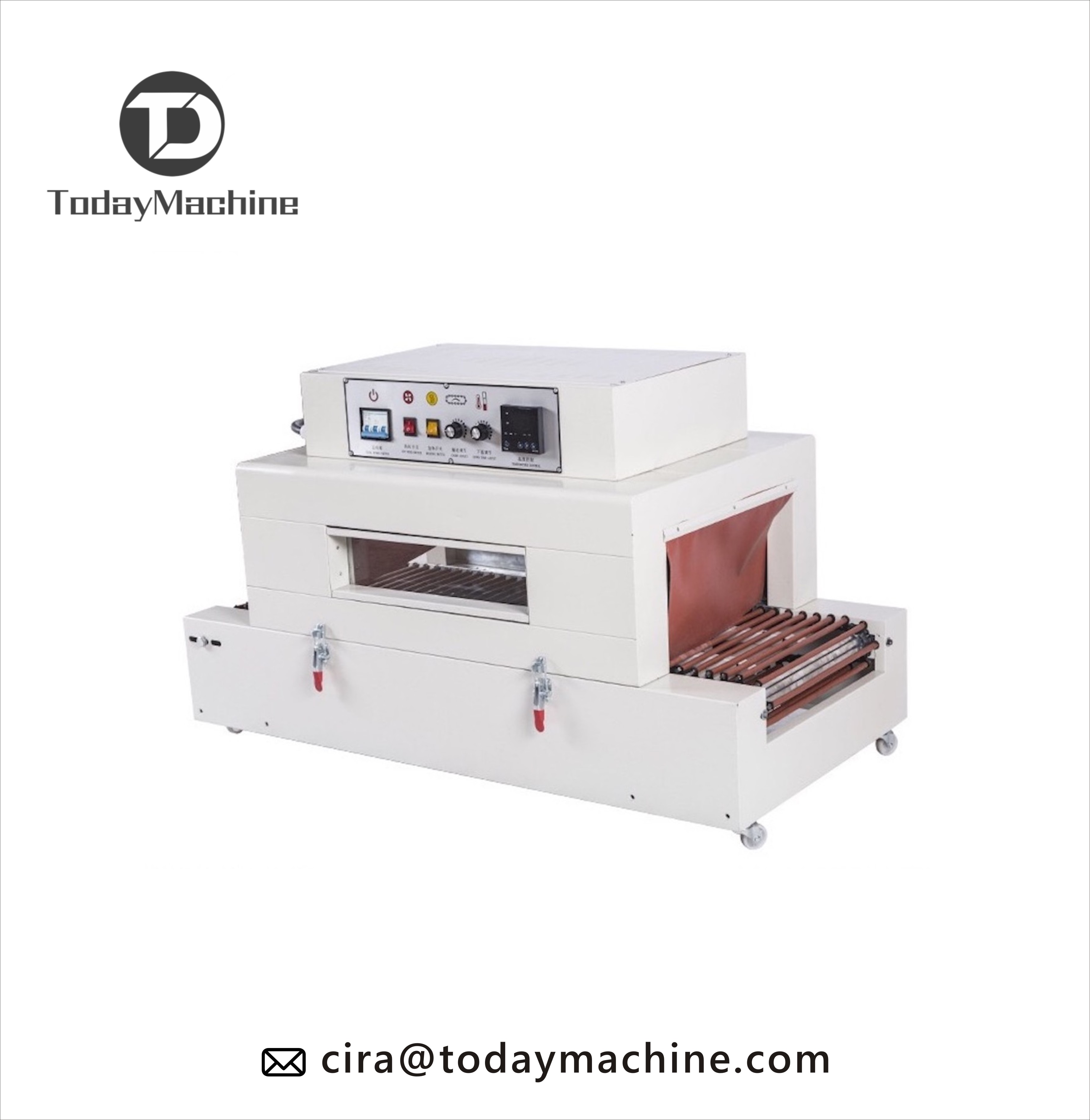 Semi-Automatic Sleeve Wrapper Tunnel Shrink Packaging Machine For PE