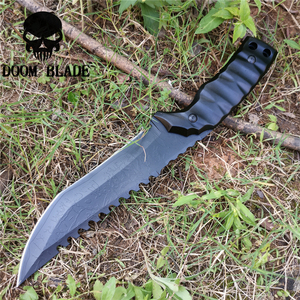 Image 3 - Tactical Fixed Blade Knife 8CR13MOV Steel Military Diving Knives Good for Hunting Camping Survival Outdoor and Everyday Carry