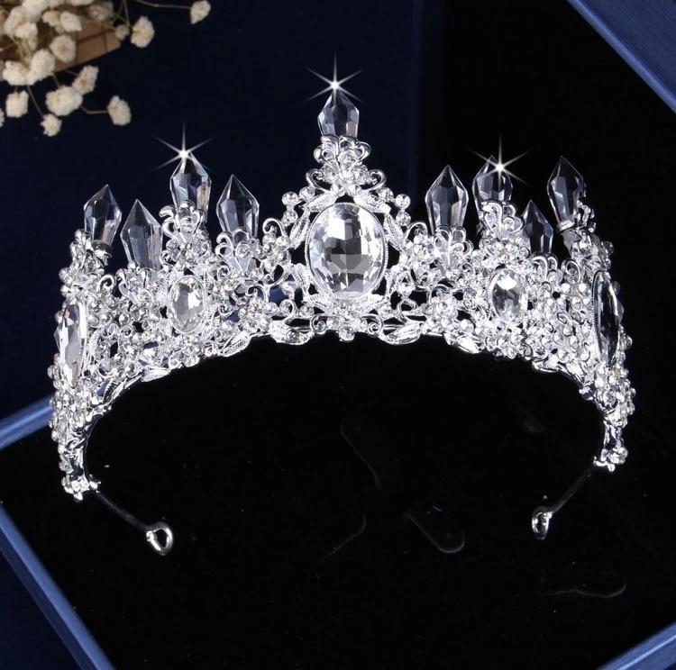 1Pcs White Crown