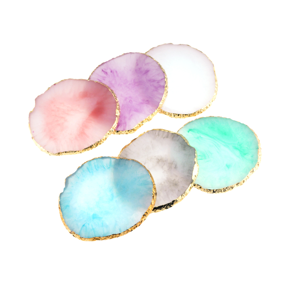 Resin Storage Painted Palette Tray Jewelry Display Board Necklace Ring Earrings Display Tray Creative Decoration Storage Box