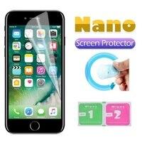 Película protectora Nano a prueba de explosiones para iPhone, Protector de pantalla de aluminio para iPhone SE 2020 5s 5 SE 2 6 6s 7 8 Plus XR X XS 11 Pro Max