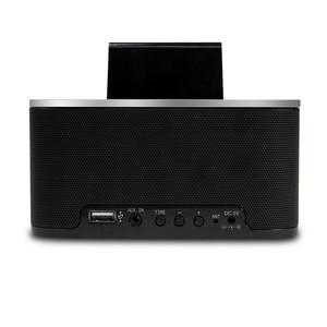 Image 2 - Homtime – réveil avec haut parleur Bluetooth, caisson de basses, Radio dappel sans fil, pour maison, hôtel, chevet, téléphone portable