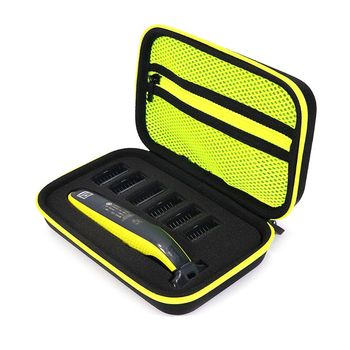 1pcs Electric Shaver Razor Box EVA Hard Case Trimmer Shaver Pouch Travel Organizer Carrying Bag for Philips Norelco One Blade QP 1pcs 1pcs new professional eva electric shaving razor storage bag hair clipper storage case electric shaver protector carrying