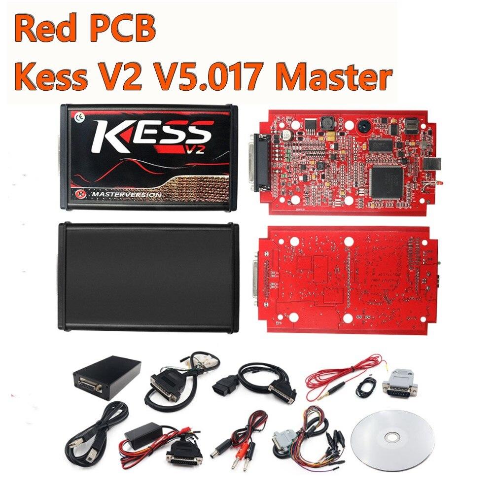Kess V2 V 5,017 SW V 2,53 Master Online Version Lkw ECU Programmierer Unbegrenzte Token Hinzufügen Mehr 140 Protokolle mit multi-sprachen