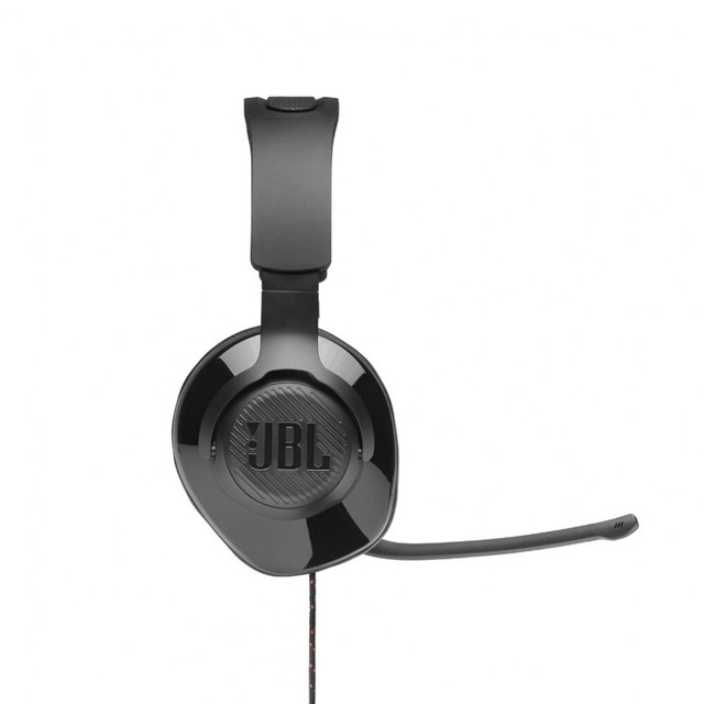 Earphones & Headphones JBL JBLQUANTUM200 Consumer Electronics Portable Audio Video headset Earphone Headphone with microphone QUANTUM 200 for Video Game 100DB Wired Dynamic 3
