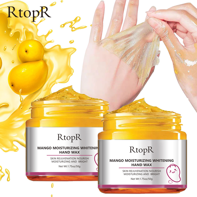 2pcs Rtopr Mango Moisturizing Hand Mask Wax Whitening Skin Care
