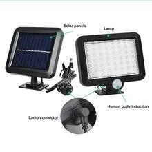 купить LED Pathway Solar Power Light PIR Motion Sensor Outdoor Wall Lamp Waterproof Energy Saving Outdoor IP65 Solar Security Lights ne дешево