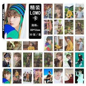 30 шт./компл. K-POP плакат Bangtan для мальчиков 2019 летняя посылка в Корее карта Lomo Фотокарта SUGA JUNGKOOK JIMIN стикер на стену
