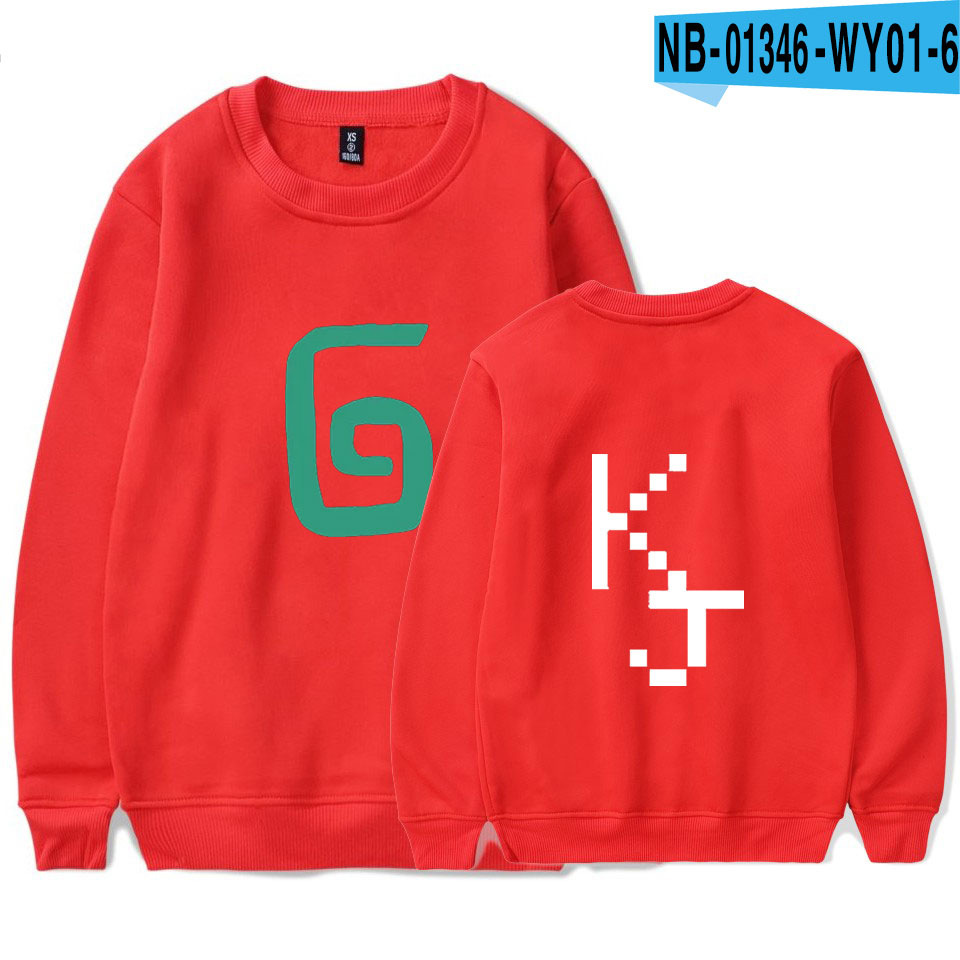 2021 Karl Jacobs Cute Style O-neck Sweatshirt Harajuku Streetwear Printed Stylish Outwear Round Collar Pullovers Clothes 8