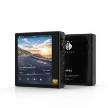 Hidizs AP80 Hi-Res Bluetooth HIFI reproductor de música MP3 ES9218P Chip tecnología LDAC USB DAC DSD128 Radio FM HibyLink FLAC DAP