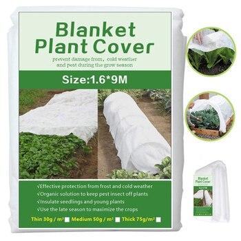 Invernadero-cubierta anticongelante para plantas de jardín, tela no tejida, Protector de jardín,...