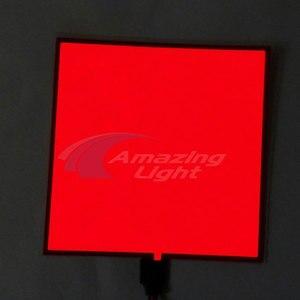 EL панель подсветки светодиодный светящийся 10*10 см панель подсветки светодиодный электролюминесцентный el подсветка с DC3V/DC5V/DC12V инвертор