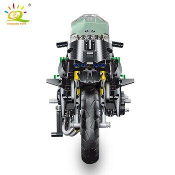 """Конструктор HUIQIBAO """"Спортивный мотоцикл"""" 3"""
