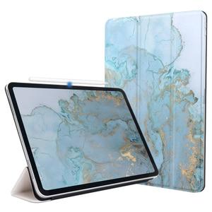 Funda inteligente para iPad Pro 11 2020 para iPad Pro 12,9 2020 2018 Funda magnética cubierta inteligente ultrafina para iPad Pro 2020