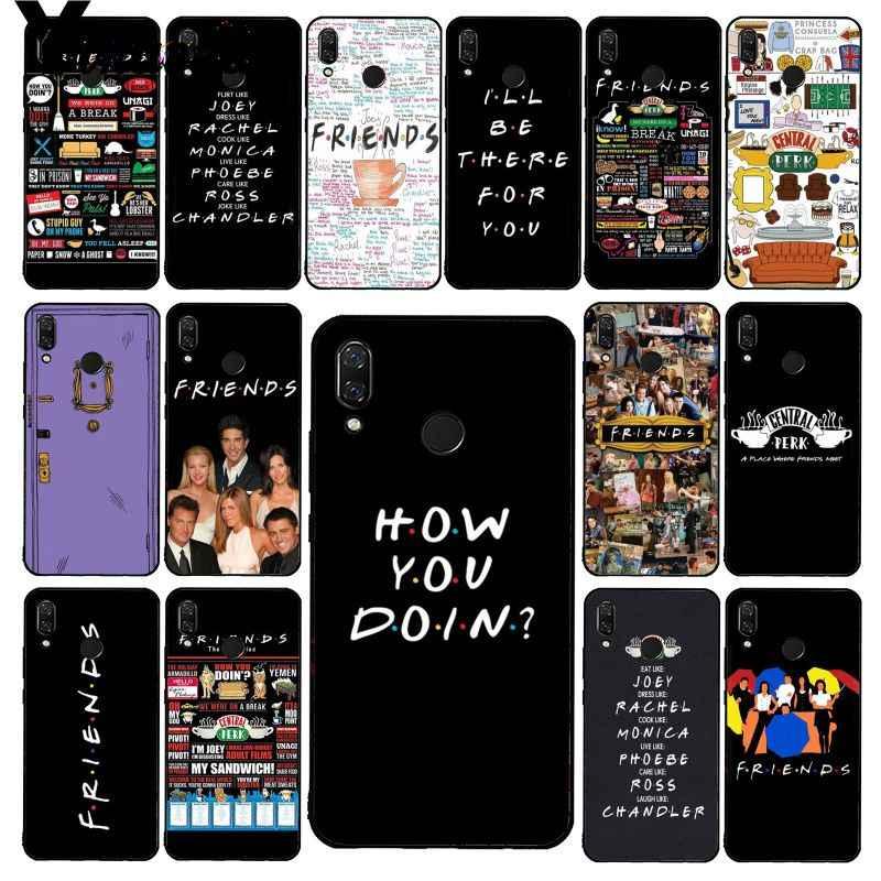 Yinuoda Central Perk Cà Phê Bạn Bè Truyền Hình Ốp Lưng Điện Thoại Xiaomi Redmi8 4X 6A S2 Đi Redmi 5 5Plus note8 Note5 7 Note8Pro