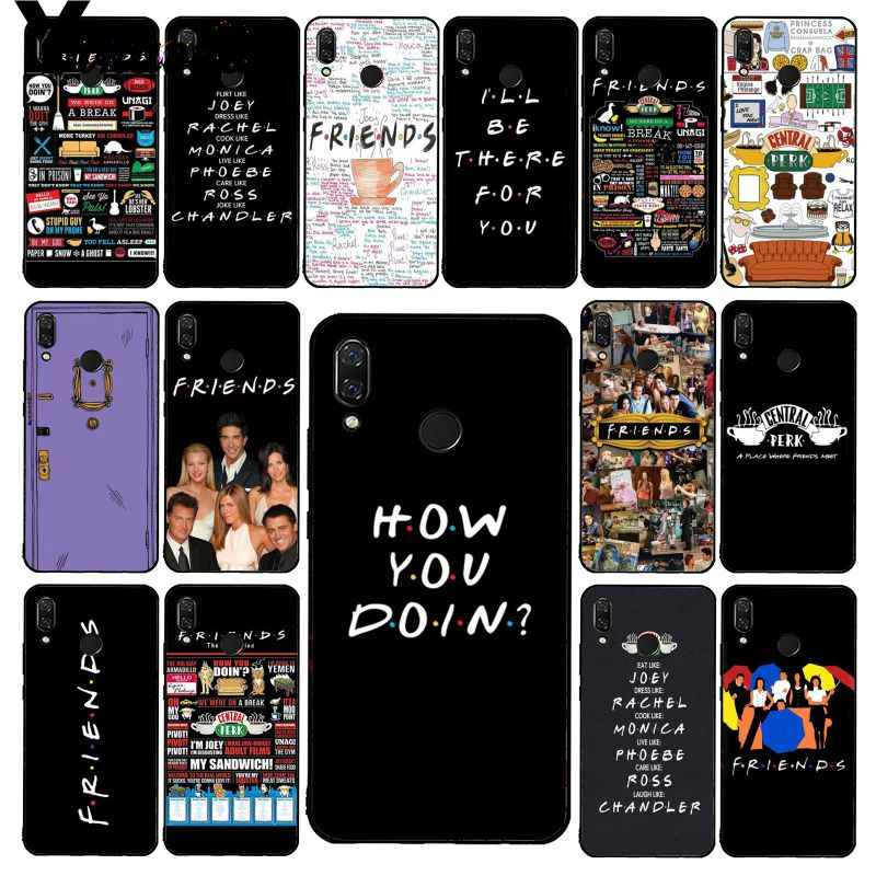 Yinuoda Central Perk Kopi Teman Acara TV Ponsel Case untuk Xiaomi Redmi8 4X 6A S2 Pergi Redmi 5Plus note8 Note5 7 Note8Pro