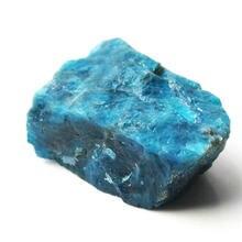 1 pc natural apatite amazonite cristal pedra áspera mineral espécime cura pedras preciosas coleções aquários decoração