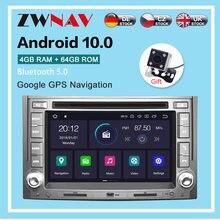 Android 2007 4 Гб + 64 ГБ Автомобильный gps dvd плеер мультимедийное