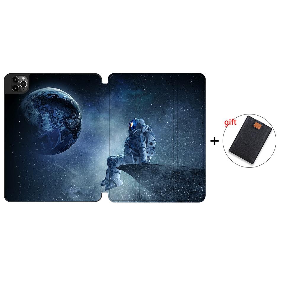 IPTPU21 Rose Red MTT Soft TPU Case For iPad Pro 11 inch 2nd Gen 2020 Tablet PU Leather Flip