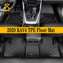Foot-Mat Floor TOYOTA Trim-Modified-Accessories Custom Car Black TPE Full-Set Fit-For
