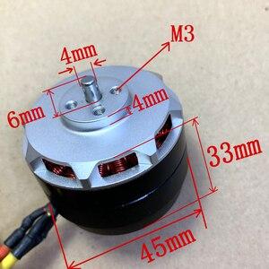 Image 4 - 1pc 4206 motor externo sem escova do rotor do grande torque da fonte de alimentação 560kv do motor da c.c.