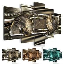 Набор для алмазной вышивки с цветами 5 шт/компл