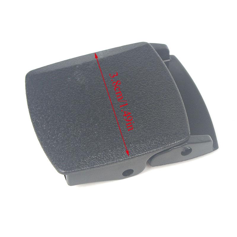 1PC 38mm Plastic Belt Buckle Men's Canvas Military Adjustable Tied Webbing DIY Waist Belt Buckle Ceinture Men belt buckle