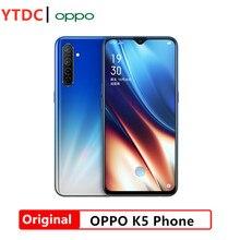 OPPO-teléfono inteligente K5 4G, Original, 6,4 pulgadas, Android 9,0, Snapdragon 730, ocho núcleos, 8GB de RAM, 128GB ROM, 4 cámaras traseras, batería de 4000mAh