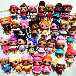 L.O.L. Сюрприз! 1 шт. кукла + 1 шт. одежда большая сестра 8 см куклы Детская коллекция кукла LOL платье кукла подарок на день рождения игрушка