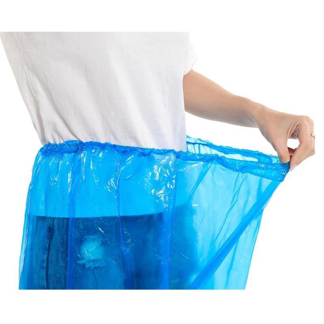 1/5/10/20/30pcs Disposable Split Raincoat Rain Pants Suit Dustproof Waterproof Anti-dirty Disposable Full Protective Raincoat 2